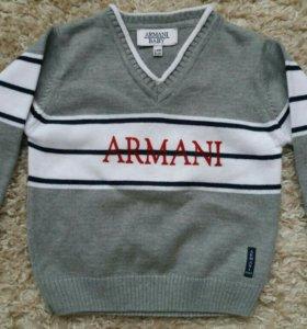Брендовый свитерок Armani Baby р.92-98