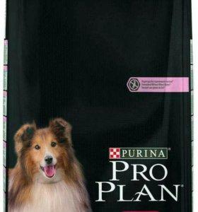 Корм Pro Plan для собак лосось