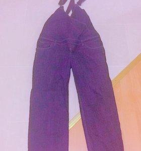 Фирмен.комбез джинс ,брюки для беременных!