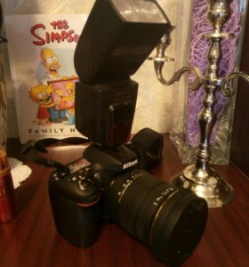 Nikon d7100 комплект.