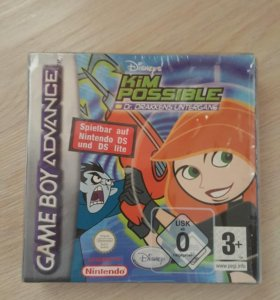 Game boy advance. Kim possible. (Новая)