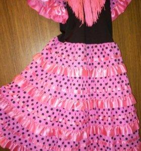 Платье нарядное фламенко