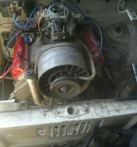 Двигатель ЗАЗ 968