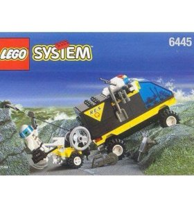 """Винтажное Лего / Lego """"Спасательный Автомобиль"""""""