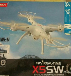 Квадрокоптер syma 5sw с fpv