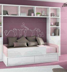 Детская кровать(стенка)