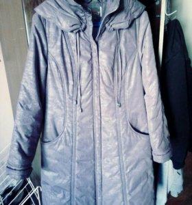 Пальто демисизонное 48р