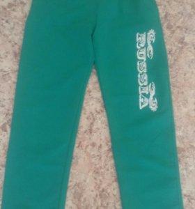 Спортивные штаны на резинке рост 140