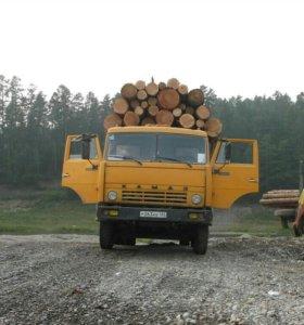 Камаз 5320 лесовоз площадка вхорошем состоянии