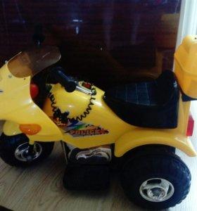 мотоцикл электрический детский
