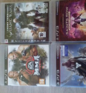 PS3 диски
