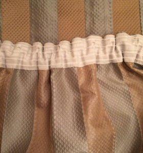 Комплект штор и тюли