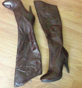 Сапоги кожаные SandraValeri