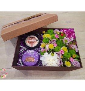 Цветочная коробочка