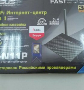 Wifi роутер Asus Rt-n11p, 300Mbps