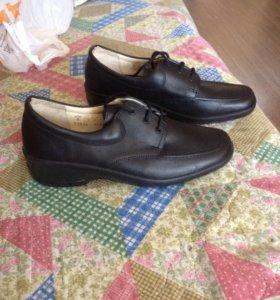 Ботинки кожаные ,новые(Belwest)