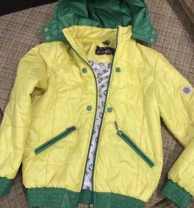 Куртка осенне-весенняя на девочку