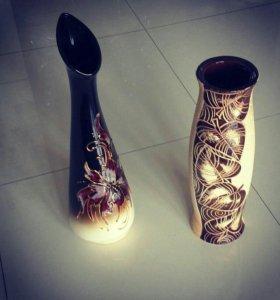Вазы керамика новые