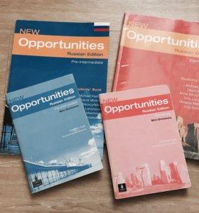 """Учебники по английскому языку """"New Opportunities"""""""