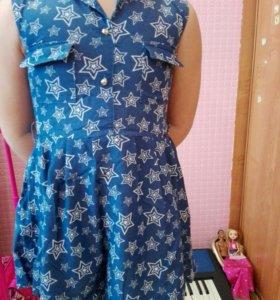 Платье рост 123