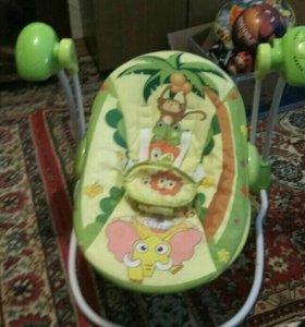 Детская электрокачалка