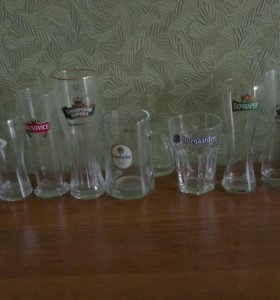 Пивные бокалы 10 шт
