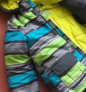 Куртка зимняя для мальчика 6-7леь