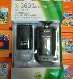 Аккумуляторы на геймпад xbox 360