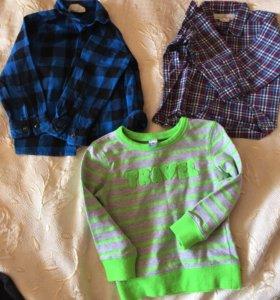 Рубашка, кофта, свитшот