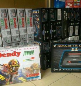 Dendy, Sega, Hamy. Новые.