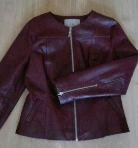 Куртка, женская, кожа натуральная, р 44