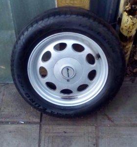 Колеса с дисками всмпо на ВАЗ кованные