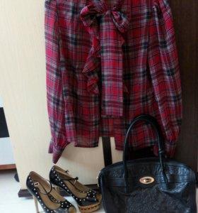 Блузка ,брюки ,туфли женские