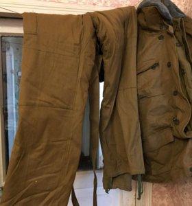Куртка и брюки зимние военные
