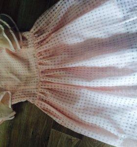 Очень красивое нежного цвета летнее Платье.
