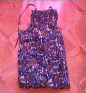 Длинное платье (лето)
