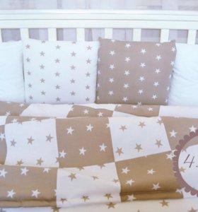 Комплект в кроватку(новый)