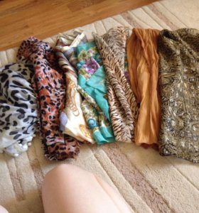 Платки и шарфики