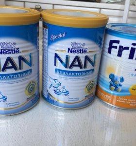 NAN безлактозный смесь сухая для кормления детей
