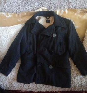 Пальто для мальчика на рост 164