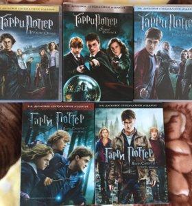 Гарри Поттер лицензионные DVD диски