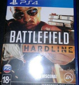 Продам для PS 4 Battlefield Hardline
