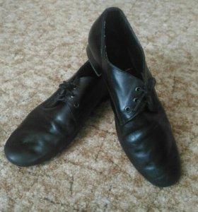 Туфли танцевальные (кожа)