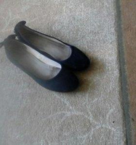 Туфли замшевый