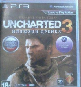Игра на PS3 UNCHARTED 3 Иллюзии Дрейка