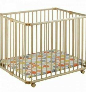 Манеж-кровать Geuther Lucilee Натуральный