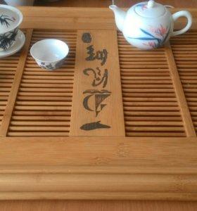 Чабань, гайвань, 2 пиалы , чайник