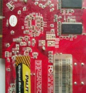 Видеокарта ATI 9250 AGP8X 128mb