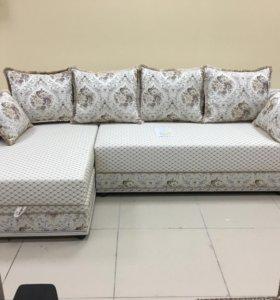 Новый угловой диван-кровать