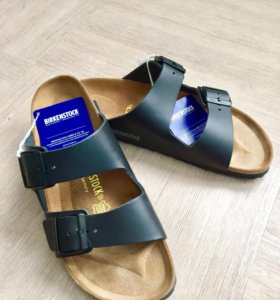 Новые сандалии Birkenstock Arizona. Натур. Кожа